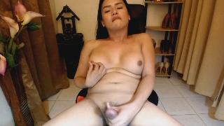 Photos Hottie Tranny Masturbates On Webcam