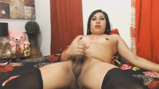 Photos Exotic Shemale Jerking On Cam