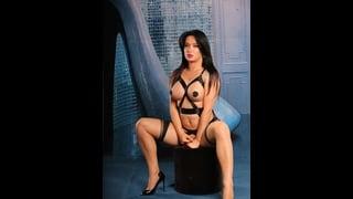 Ts Bianka Nascimento Indossa Un Body Nero Molto Sexy