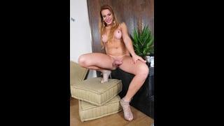 Evelin Rangel Nuda Con Scarpe Con Tacco A Spillo