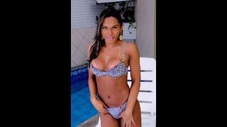 Thayla Andrade In Biancheria Intima