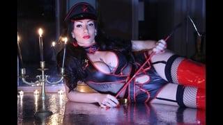 Trans Sado Gloria Voguel Con Frustino In Mano