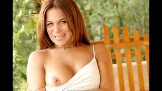 Sensuale Trans Marjorie Romao Con Una Tetta Nuda