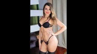 Trans Sexy Paulinha Lima In Biancheria Intima