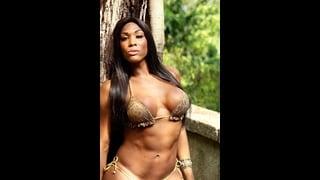 Trans nera molto sexy Veronica Bolina