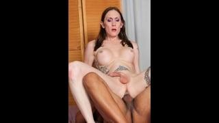 Transex Christina Skyye Inculata Da Un Uomo