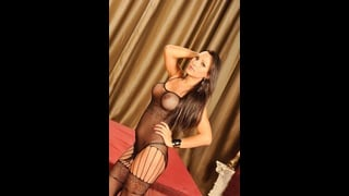 Sexy Trans Sandy Sandroval In Posa Sensuale
