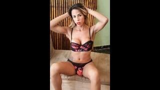 Ts Bruninha Almeida In Sexy Lingerie