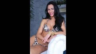 Ts Cybelli Calmon Posa In Hot Bikini