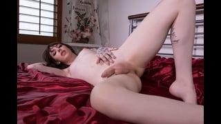 Transex Annabelle Nuda A Letto