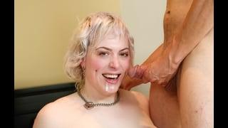 Jane Starr Con La Bocca Sporca Di Sperma
