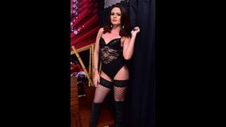 Ts Lara Machado In Sexy Lingerie Nera