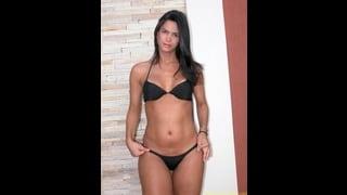 Hot Bikini Nero Per La Tranny Melissa Del Prado