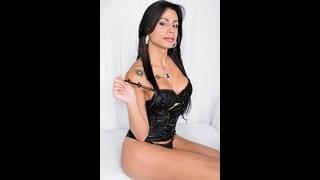 Scatto Erotico Della Bella Shemale Bruna Rodrigues