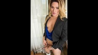 Foto Hot Della Bionda Trans Lana Knight