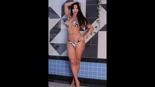 Ts Latina Carla Abiazzi In Hot Bikini