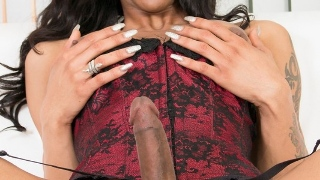 Ebony Shemale Salina Samona xxx photos 3