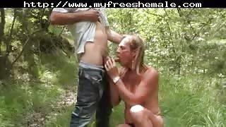 Video amatoriale sesso nel bosco!!!