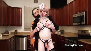 Porca casalinga trans!!!
