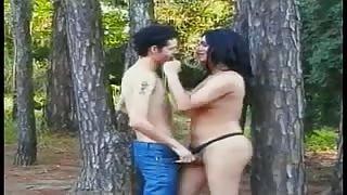 Trans in una delle sue prime scene porno