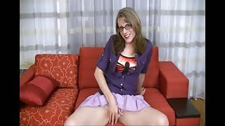 Video trans solo della trans matura Wendy Summers!