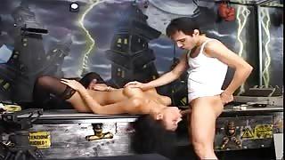 Bellissima e caliente trans scopata da Giorgio Grandi!