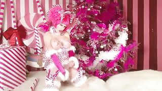 Un Natale trans a Candyland Porn con Tara Emory!