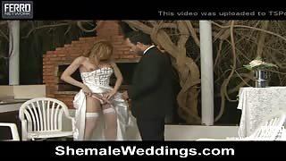 Trans Alessandra Leite si sposa...