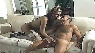 Transex italiana Roberta Cavalcante in azione