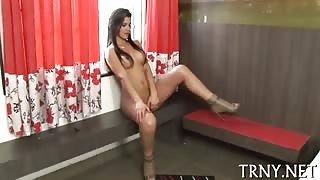 Video trans solo della bella Alinne Garcia