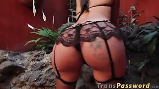 Perfect transexual's ass