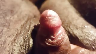 Hairy FTM masturbates