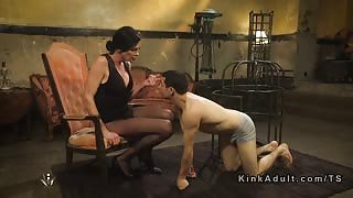 TS Morgan Bailey is mistress domina