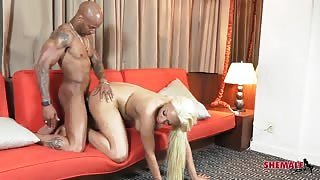 Ts Britney Fox assfucked by BBC