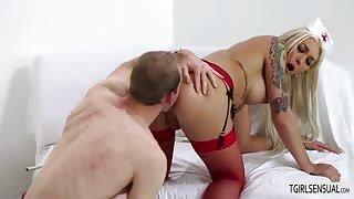 Sexy Ts nurse Aubrey Kate