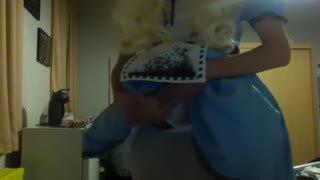 Sissy Alice in porn wonderland!