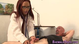 Doctor transex visits and fucks patient