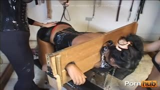 Brazilian BDSM sex with hot tranny