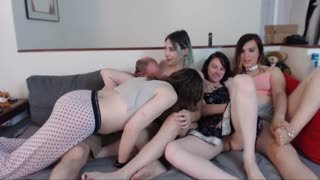 Group sex live on webcam