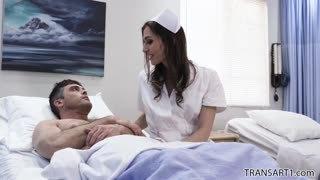 Sexy nurse shemale Korra Del Rio anal xxx